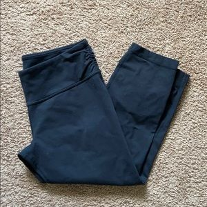 Lululemon Zipper Crop Leggings